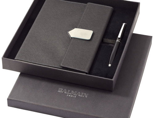 10704900 A5 Charcoal Notebook Gift Set (Metal+PU)