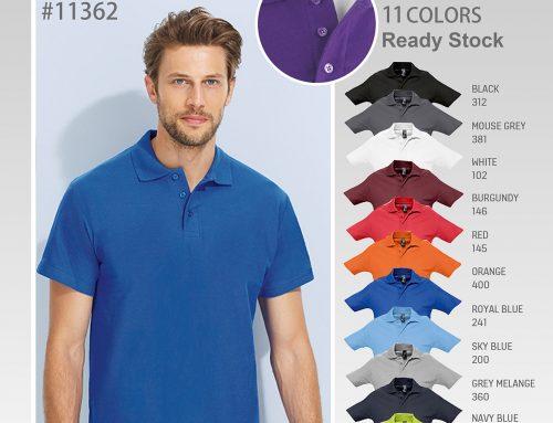 #11362 SOL'S Spring II Polo Short Sleeve Tee Shirt *210PIQUE