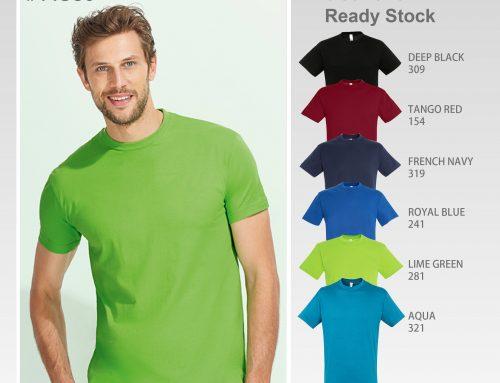 #11380 SOL'S REGENT Crew Neck 100% Cotton Tee Shirt