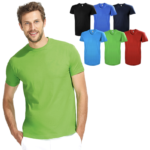 Quality 100% cotton t-shirt designed in Paris, soft feel and cooling, excellent for logo printing. Ready stocks with 7 colours available.