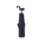 "UMF1026 21"" FOLDABLE UMBRELLA WITH TURNABLE HOOK Material: 190T PONGEE Frame: metal black coated ribs & shaft Top & Tips: plastic & nickle Handle: plastic"