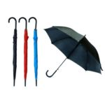 "UMS1302. 24"" AUTO OPEN STRAIGHT UMBRELLA Material: Polyester Dimensions :24 inch with 8 planels"