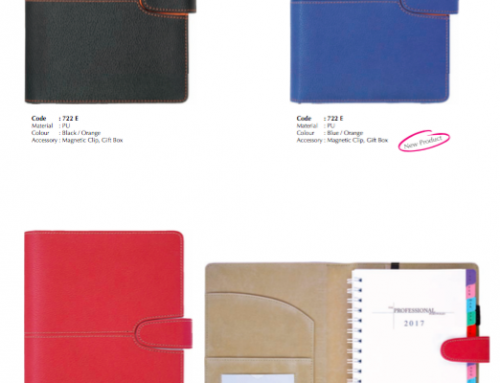 722E Business Portfolio made of PU Leather