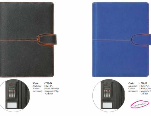 728D Business Portfolio made of Italy PU Leather