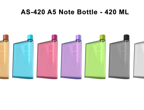 AS-420 A5 Note Bottle 420ml BPA free