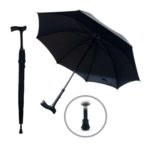 UMS1304 WALKING STICK AUTO OPEN STRAIGHT UMBRELLA Material: Pongee. Dimensions: 23 inch X 8 panels