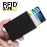 CH17040 RFID Card Holder Color:Black/Silver/Gold Material:Metal