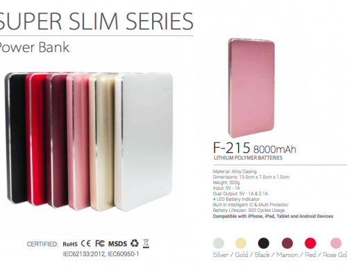 F215 Super Slim 8000mAh