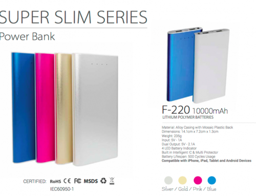 F220 Super Slim 10,000mAh