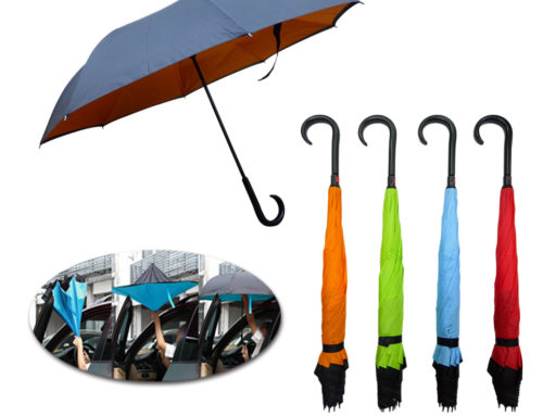 FG-435 *23″ 8 Panels Inverted Umbrella with J Hook Handle