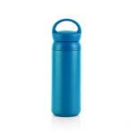 HDT1020 DOUBLE WALL STAINLESS STEEL TUMBLER 500ML Dimensions: 17cm (H) x 6.5cm(Dia) Material: Stainless Steel, PP, Rubber