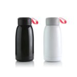 HDF1013 STAINLESS STEEL THERMOS 450ML -Material: Silicone+ Stainless Steel (inner 304 + outer 201)