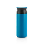 HDT1021 STAINLESS STEEL TUMBLER 500ML Dimensions: 17cm (H) x 6.5cm(Dia) Material: Stainless Steel, PP, Rubber