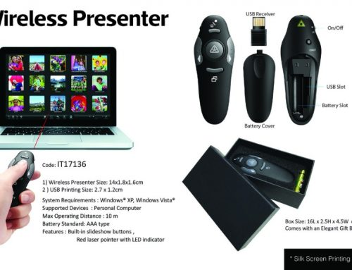 IT17136 Wireless Presenter 14 X 1.8 X 1.6cm