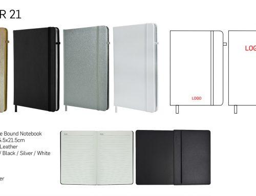 Jotter21 A5 PU hardcase notebook
