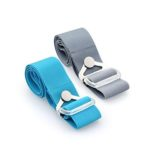 YLU1043 - 2 WAY LUGGAGE BELT - Way 1: To hold the extra bag. Way 2: To identify and secure your luggage. Dimensions: 5cm(H) x 99cm(L) Material: Nylon