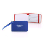 OLR6004 LUGGAGE TAG Material: Leatherette paper Dimensions: 9.5cm(L) x 0.7cm(H) x 6cm(W)