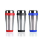 HDC1026 TRAVEL TUMBLER 16OZ Material: 16 oz Double wall insulated tumbler with SS exterior