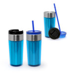 HDT1009 DUAL USE STAINLESS STEEL TUMBLER 350ML