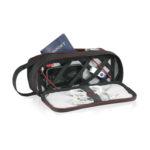 OHT6008 Travel Organiser Case Material: Nylon Size: 4.75(H) x 10(W) x 4(L)