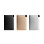 tallic Powerbank 3000 mAh-Dimensions 10cm(H) x 6.7cm(L) x 0.5cm(W) Material: Aluminium