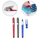 FPP1024* 3 IN 1 BALL PEN -Pen cover be used as handphone stand. Stylus for handphone and tablet.