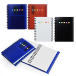 SS16011 POCKET NOTEBOOK WITH POST IT PAD