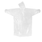 ORC1001 PONCHO WITH DRAWSTRING HOOD Material :Plastic/Free Size. Dimensions: 160cm(L) x 130cm(H)