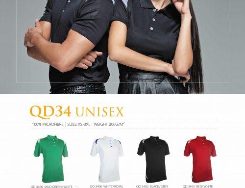 QD34 Polo Quick-Dri *microfibre