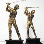 RT004 Male /Female Golfer Width: 11cm Height: 27cm
