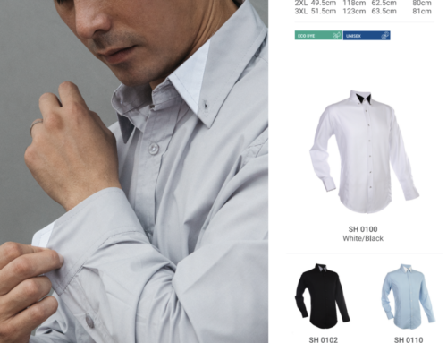 SH01 Mens Long Sleeve Shirt 120gsm