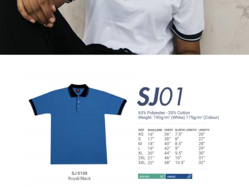 SJ01 Polo Tee Shirt