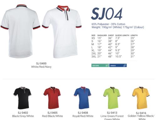 SJ04 Polo Tee Shirt