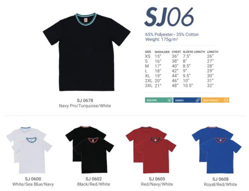 SJ06 Round Neck Tee Shirt
