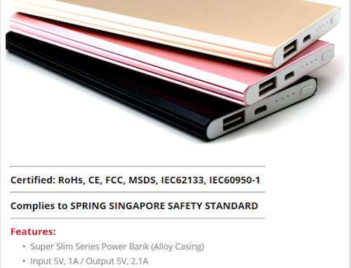 F217 Super Slim Series *8000mAh