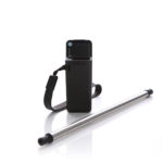 HKC1008 COLLAPSIBLE STRAW Colours: Black, Grey Material :304 stainless steel