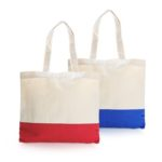 TNW1020-Two Tone Canvass Tote *36X31cm