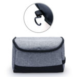 TSP1054 Toiletry Pouch *Size: 24cm(L) x 13cm(H) x 15cm(W) Material :Snow Canvas