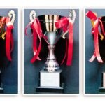 TT188 Challenge Trophy Size : 36cm Gold/Silver/Bronze