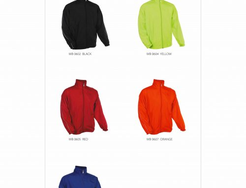 WB06 Windbreaker *high density