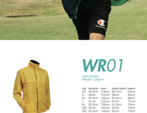 WRO1 Reversible Windbreaker-Hi Density