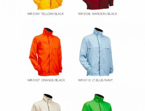 WR01 Reversible Windbreaker *high density