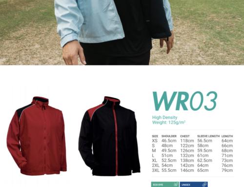 WR03 Reversible Windbreaker -hi density