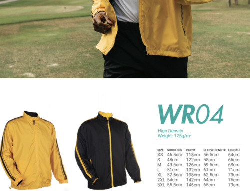 WR04 Reversible Windbreaker – hi density