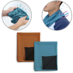 WSP1004COOLING SPORT TOWEL *86cm(H) x 35cm(L) Material: 50% polyester + 50% polyamide 150 gsm