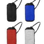 WSP1005 MICROFIBRE TOWEL36cm(L) x 80cm(H)- Towel, 8cm(L) x 15cm(H)- Mesh bag Material: 80%Polyester + 20%Polymide Fibre - 280gsm