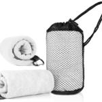 WSP1005 MICROFIBRE TOWEL *36cm(L) x 80cm(H)- Towel, 8cm(L) x 15cm(H)- Mesh bag