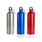 "HDB1038 ALUMINIUM BOTTLE BPA-free 25 oz. (739 mL Dimensions: 9.875"" H x 2.75"" DIA"