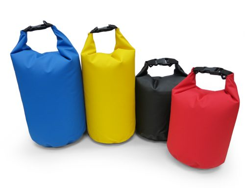 Dry Bag -material: 500D PVC Tarpaulin available in 15,10 & 5 Litres