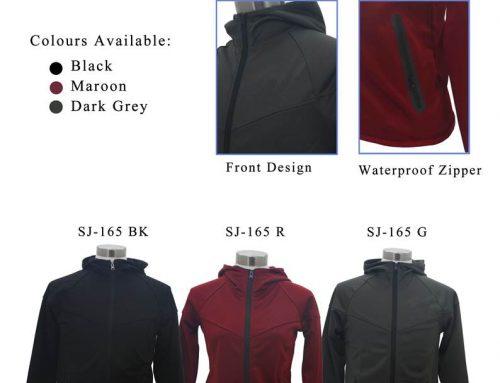 SJ-165 Hoodies Jersey Jacket